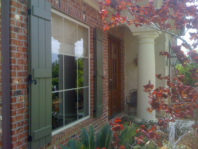 Shutters In Lafayette Exterior Window Covering
